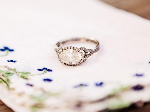 椭圆形切工钻石